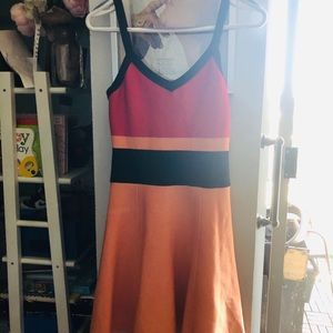 Gorgeous Marciano tri-color dress